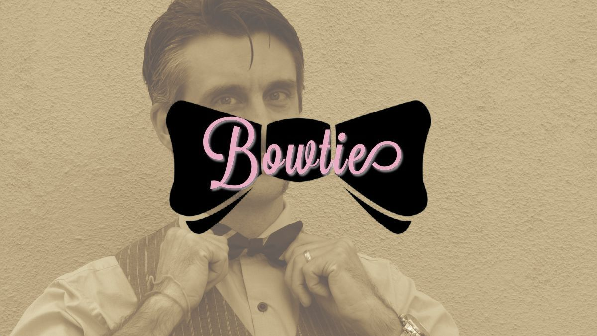 How I learned to stop worryingand tie a bow tie.