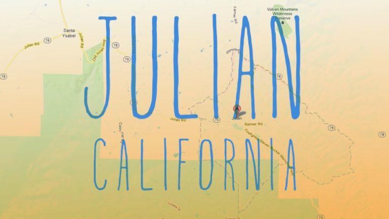 A Weekend in Julian, California in 30 Seconds
