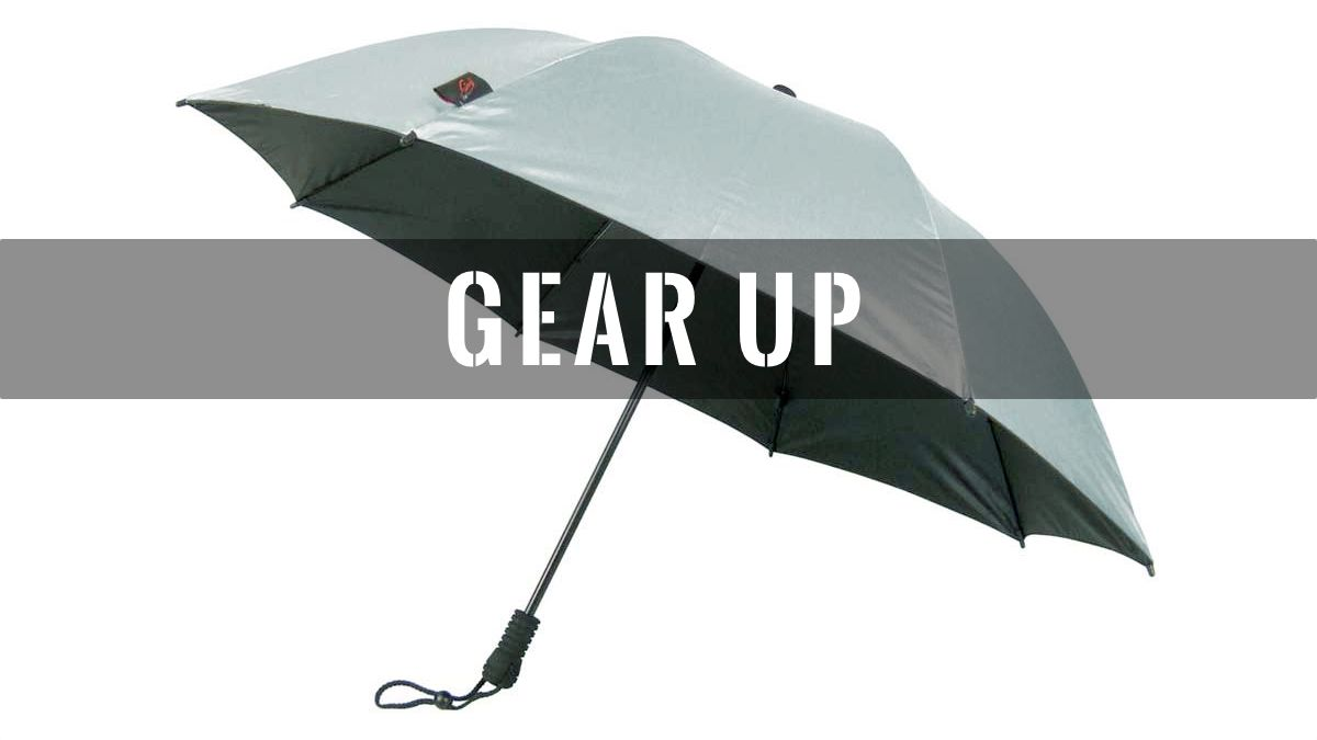 Gear Up: Lliteflex Trek Umbrella
